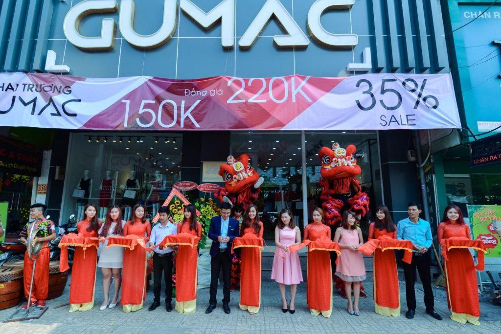 tổ chức khai trương cửa hàng tại Gò Vấp